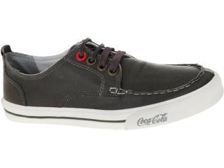 Tênis Masculino Coca-cola Shoes Cc0147 Musgo - Tamanho Médio