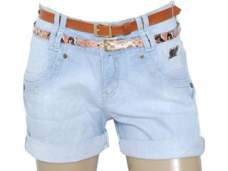 Short Feminino Oppnus 420 Jeans - Tamanho Médio
