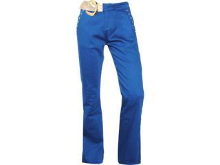 Calça Feminina Lado Avesso 80575 Azul Aquatico - Tamanho Médio