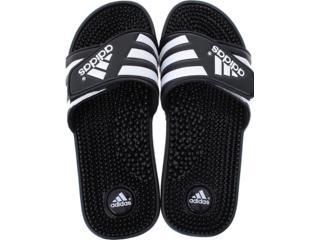 Chinelo Masculino Adidas 78260 Adissage Preto/branco - Tamanho Médio