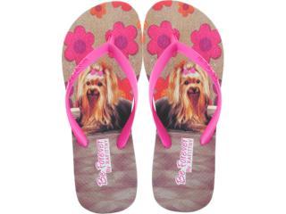Chinelo Feminino Rafitthy 11.31701 York Carpet Off Pink - Tamanho Médio