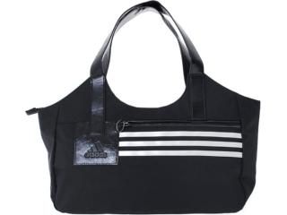 Bolsa Feminina Adidas W62534 Preto/branco - Tamanho Médio