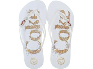 e1a9e86ca2 Chinelo Coca-cola Shoes CC0199 Brancoincolor Comprar na...
