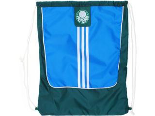 Bolsa Masculina Adidas W40861 Palmeiras Azul/verde/branco - Tamanho Médio