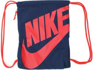 Bolsa Masculina Nike Ba3329-446 Marinho/vermelho - Tamanho Médio