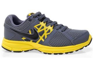 Tênis Masculino Nike 511915-009 Air Relentless 2 Msl Chumbo/amarelo - Tamanho Médio