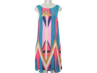 Vestido Feminino Coca-cola Clothing 443201072 Estampado Color - Tamanho Médio
