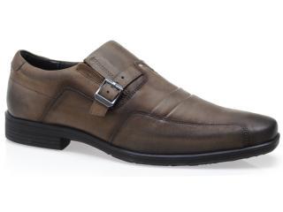 Sapato Masculino Ferracini 3360 Taupe - Tamanho Médio
