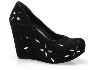 Sapato Feminino Tanara 3781 Preto - Tamanho Médio