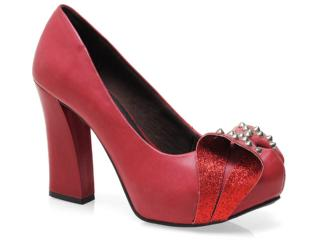 Sapato Feminino Dakota 4302 Vermelho - Tamanho Médio