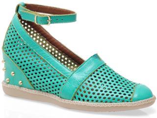Summer Sneaker Feminino Anna Brenner 1005 Verde - Tamanho Médio