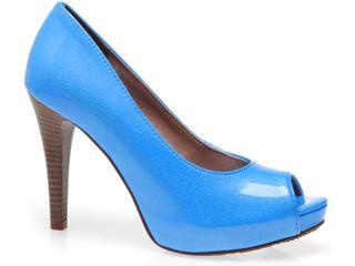 Sapato Feminino Via Marte 10-10701 Azul - Tamanho Médio