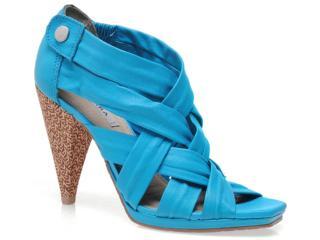 Sandal Boots Feminina Tanara 2742 Azul - Tamanho Médio