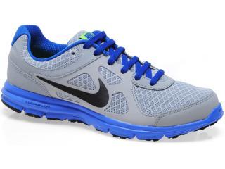 Tênis Masculino Nike 488216-009 Lunar Forever Cinza/royal - Tamanho Médio