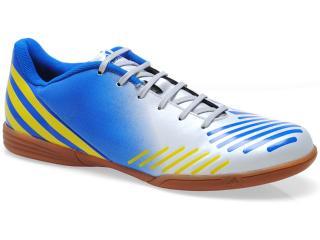 Tênis Masculino Adidas G64952 Predito lz in Branco/azul/amarelo - Tamanho Médio