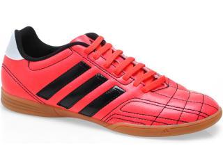 Tênis Masculino Adidas Q34533 Goletto iv in Laranja Neon/preto - Tamanho Médio