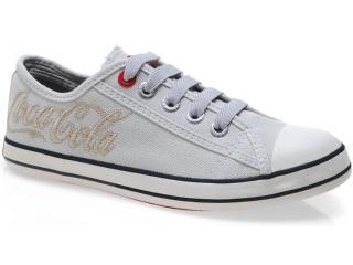 Tênis Feminino Coca-cola Shoes Cc0160 Off White - Tamanho Médio