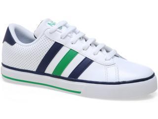 Tênis Masculino Adidas Q26026 se Daily Vulc Branco/marinho/verde - Tamanho Médio