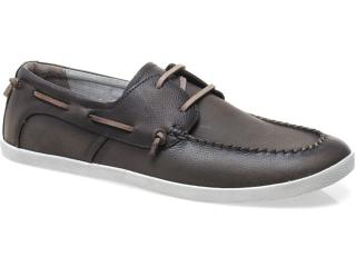 Sapato Masculino Democrata 44102 Mascavo - Tamanho Médio