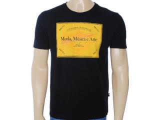 Camiseta Masculina Cavalera Clothing 01.01.6712 Preto - Tamanho Médio