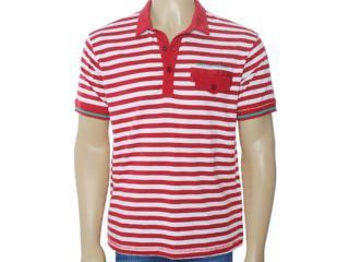 Camisa Masculina Coca-cola Clothing 253200423 Listrado Bordo - Tamanho Médio