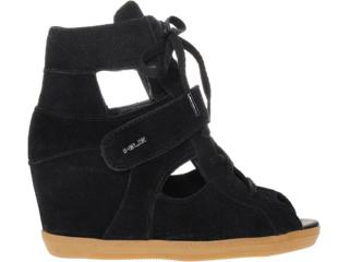 Sneaker Feminino Quiz 69906 Preto - Tamanho Médio