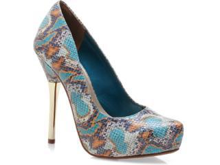 Sapato Feminino Via Marte 12-3301 Verde - Tamanho Médio