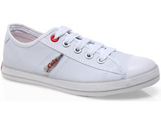 Tênis Feminino Coca-cola Shoes Cc0129 Branco - Tamanho Médio