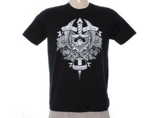 Camiseta Masculina Cavalera Clothing 01.01.6938 Preto - Tamanho Médio