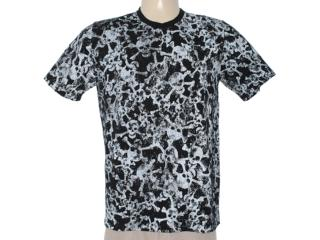 Camiseta Masculina Cavalera Clothing 01.01.6705 Preto - Tamanho Médio