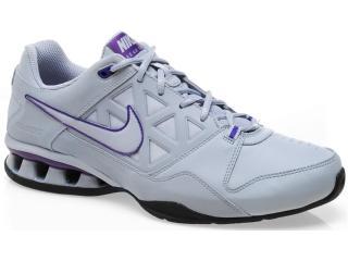 Tênis Masculino Nike Reax 454124-005 Cinza/roxo - Tamanho Médio