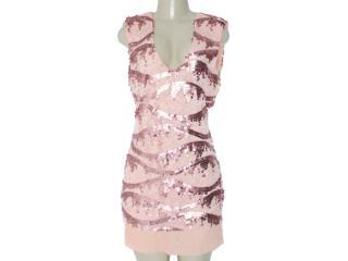 Vestido Feminino Moikana 7064 Rose - Tamanho Médio
