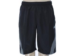 Bermuda Masculina Adidas X53744 Preto/chumbo - Tamanho Médio