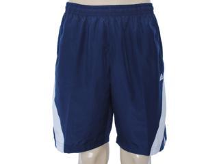 Bermuda Masculina Adidas X53743 Marinho/branco - Tamanho Médio