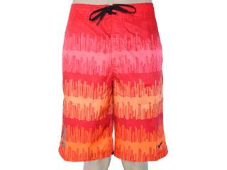 Bermuda Masculina Nike 505372-640 Vermelho/laranja - Tamanho Médio