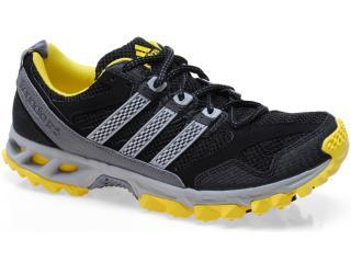 Tênis Masculino Adidas Q22380 Kanadia 5 tr m Preto/cinza/amarelo - Tamanho Médio