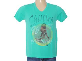 Camiseta Masculina Dzarm 6byp Wb710 Verde - Tamanho Médio