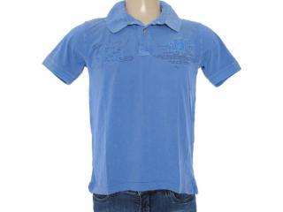 Camisa Masculina Dzarm 6byn Au610 Azul Bic - Tamanho Médio