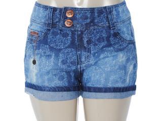 Short Feminino Lado Avesso 82223 Jeans - Tamanho Médio