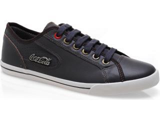 Tênis Masculino Coca-cola Shoes Cc0203 Brown - Tamanho Médio