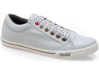 Tênis Masculino Coca-cola Shoes Cc0081 Off White - Tamanho Médio