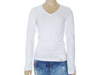 Blusa Feminina Lado Avesso 82401 Branco - Tamanho Médio