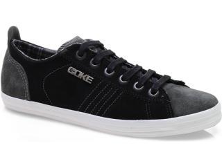 Tênis Masculino Coca-cola Shoes Cc0371 Preto - Tamanho Médio