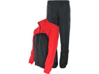 Abrigo Masculino Nike 521546-060 ad Woven Chumbo/vermelho - Tamanho Médio