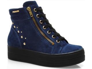 Sapato Feminino Quiz 63805 Carbono - Tamanho Médio