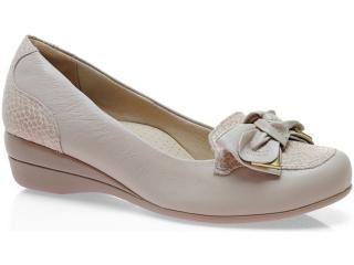 Sapato Feminino Campesi 3464 Avelã - Tamanho Médio