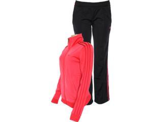 Abrigo Feminino Adidas Z29894 Diana Suit Pink/preto - Tamanho Médio