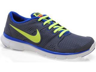 Tênis Masculino Nike 525762-014 Flex Experience r Chumbo/marinho/limão - Tamanho Médio