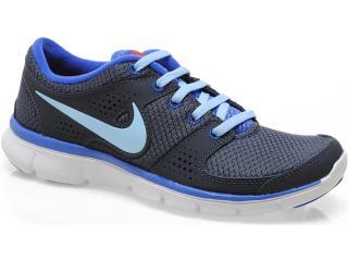 Tênis Masculino Nike 525754-016 Flex Experience rn Chumbo/azul - Tamanho Médio