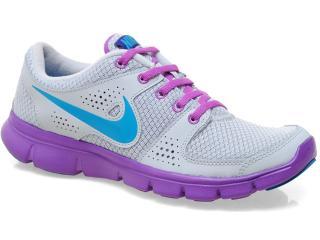 Tênis Feminino Nike 525754-009 Flex Experience rn Cinza/lilas - Tamanho Médio